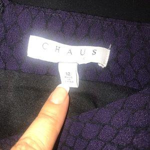 Chaus Skirts - Chaus purple python skirt. NWOT.